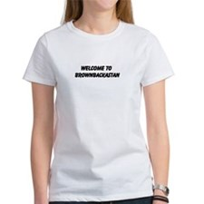 Welcome to Brownbackastan Tee