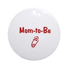 Mom-to-Be Ornament (Round)