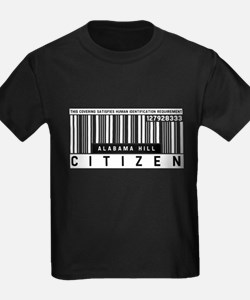 Alabama Hill, Citizen Barcode, T