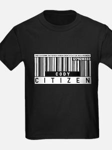 Cody, Citizen Barcode, T