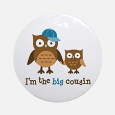 Big Cousin - Mod Owl Ornament (Round)