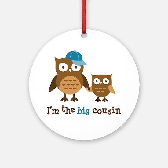 Big Cousin - Mod Owl Ornament (Round)