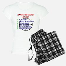 OBAMAS HIT LIST Pajamas