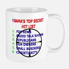 OBAMAS HIT LIST Mug