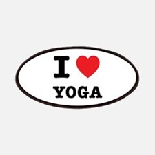 I Heart Yoga Patches