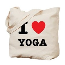 I Heart Yoga Tote Bag