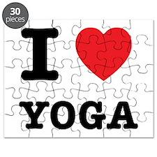 I Heart Yoga Puzzle