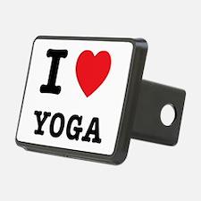 I Heart Yoga Hitch Cover