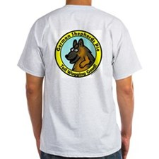 German Shepards Pie Ash Grey T-Shirt