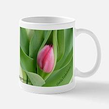 Pink Tulip Bud Mug - Love With No Regrets