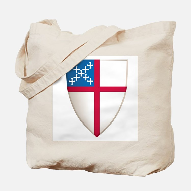 Episcopal Shield Tote Bag