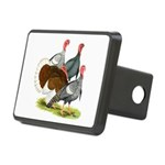 Heritage Turkeys Rectangular Hitch Cover