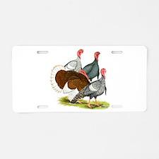 Heritage Turkeys Aluminum License Plate
