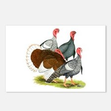 Heritage Turkeys Postcards (Package of 8)