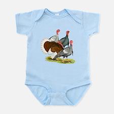 Heritage Turkeys Infant Bodysuit