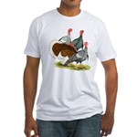 Heritage Turkeys Fitted T-Shirt