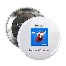 Super Social Worker Button