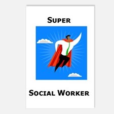 Super Social Worker Postcards (Package of 8)