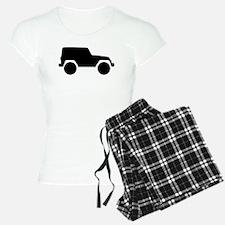 Jeep Outline Pajamas