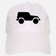 Jeep Outline Baseball Baseball Cap