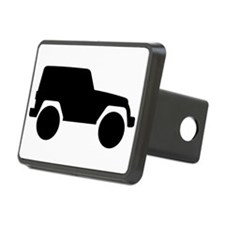 Jeep Outline Hitch Cover