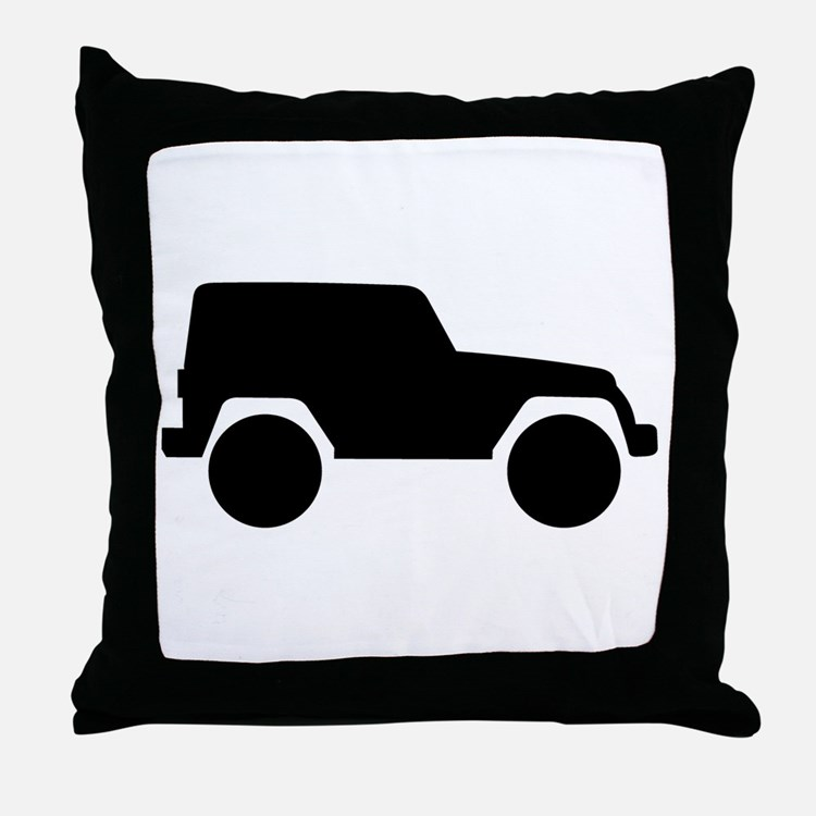 Jeeps Pillows, Jeeps Throw Pillows & Decorative Couch Pillows