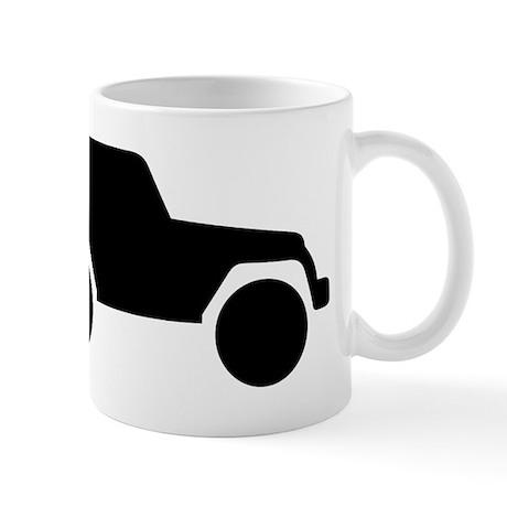 Jeep Outline Mug