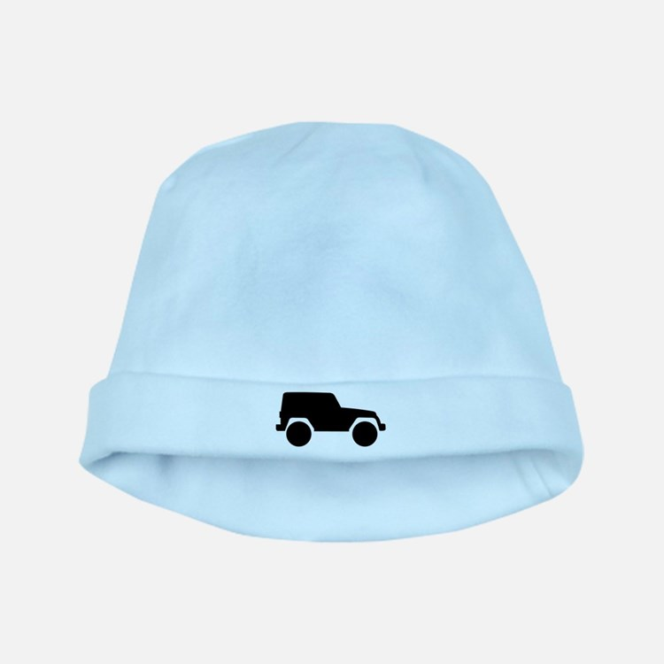 Jeep Outline baby hat