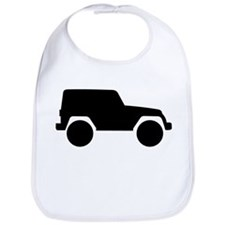Jeep Outline Bib