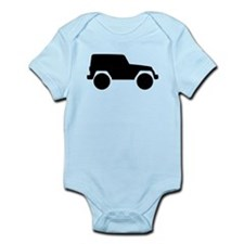 Jeep Outline Infant Bodysuit
