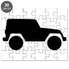 Jeep Outline Puzzle