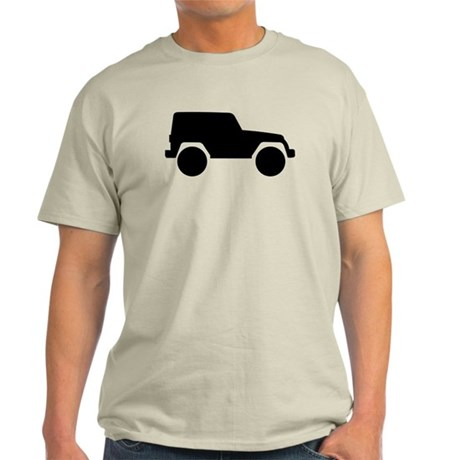 Jeep Outline Light T-Shirt