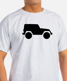 Jeep Outline T-Shirt