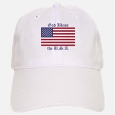 God Bless the USA Baseball Baseball Cap