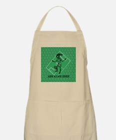Personalized Soccer girl MOM design Apron
