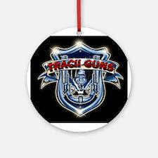 Tracii Guns Ornament (Round)