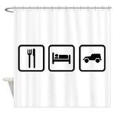 Offroad Shower Curtains
