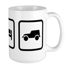 Eat Sleep Jeep Mug