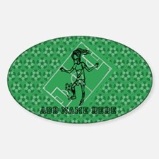 Personalized Soccer girl MOM design Decal