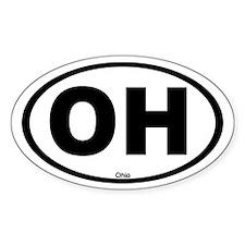 Ohio Oval Decal