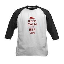 Keep Calm and Jeep On Tee