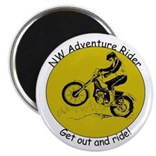 NW Adventure Rider Magnet