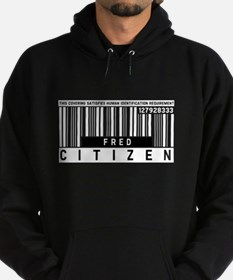 Fred, Citizen Barcode, Hoodie