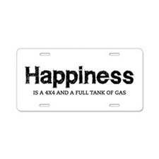 Happiness is a 4x4 and a full tank of gas Aluminum