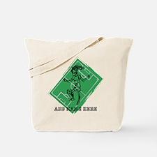 Personalized Soccer girl MOM design Tote Bag