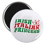 Irish Italian Princess Magnet