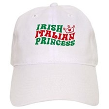 Irish Italian Princess Baseball Cap