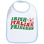 Irish Italian Princess Bib