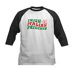 Irish Italian Princess Kids Baseball Jersey