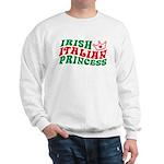 Irish Italian Princess Sweatshirt